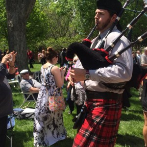 Ian Bennett - Bagpiper in Long Beach, New York