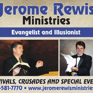 Jerome Rewis - Illusionist / Arts/Entertainment Speaker in Chatsworth, Georgia