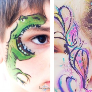 Imagination Face Painting - Face Painter / College Entertainment in Houma, Louisiana