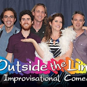 Improv Comedy with Outside the Lines - Comedy Improv Show in San Diego, California