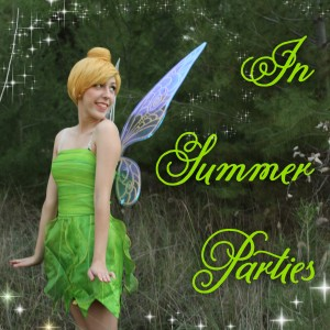In Summer Parties - Princess Party in Anaheim, California
