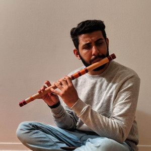 Indian Flute Player - Flute Player in Montreal, Quebec