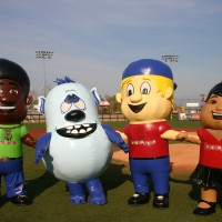 Inflatamaniacs - Costumed Character / Sports Exhibition in Louisville, Kentucky