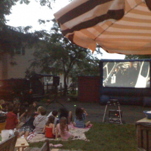 Inflate-A-Flick - Outdoor Movie Screens / Halloween Party Entertainment in Warminster, Pennsylvania