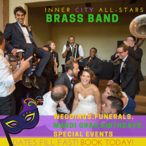 Inner City All-Stars - Brass Band / Sound Technician in Dallas, Texas