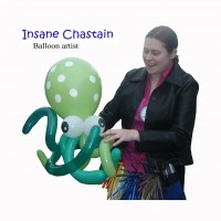 Insane Chastain Balloons - Balloon Twister / Violinist in Everett, Washington