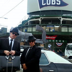 Blues Brothers World Series Game 3 - Corporate Entertainment / Historical Character in Chicago, Illinois