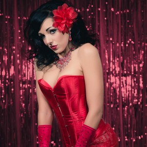 International Award Winning Burlesque Artist