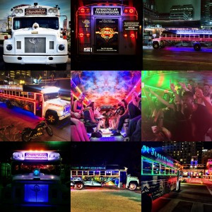 Interstellar Transmissions VIP Event Party/Shuttle Bus with Live Band - Party Bus / Prom Entertainment in Austin, Texas