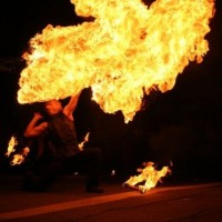 Intrinsic - Fire Dancer in Asheville, North Carolina