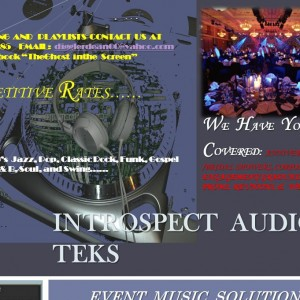 Introspect Audio Teks - DJ / College Entertainment in Beaumont, Texas
