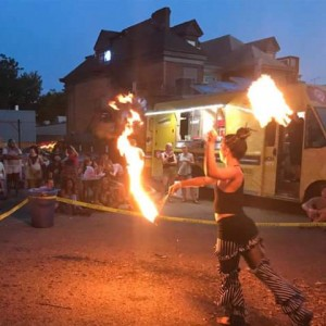 Ishkaday - Fire Performer in Pittsburgh, Pennsylvania
