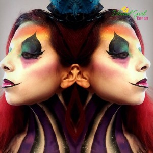 Island Girl Face Art - Face Painter / Tarot Reader in New York City, New York