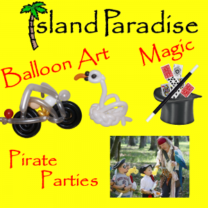 Island Paradise Balloon Art - Balloon Twister in Charleston, South Carolina