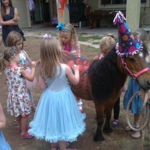 Itty-Bitty Pony Parties