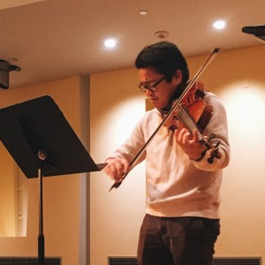 Ivan Mendoza - Viola Player in Montclair, New Jersey