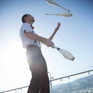 Jack Bailey , Juggler - Juggler / Corporate Event Entertainment in Kelowna, British Columbia