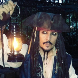 Jack Sparrowed - Johnny Depp Impersonator / Costumed Character in Los Angeles, California