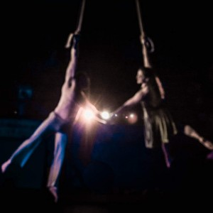 Jacki and Nicolo - Acrobat in Portland, Oregon
