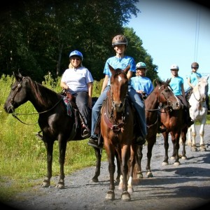 Jacobsburg Horseback Trail Rides - Pony Parties - Pony Party in Bethlehem, Pennsylvania
