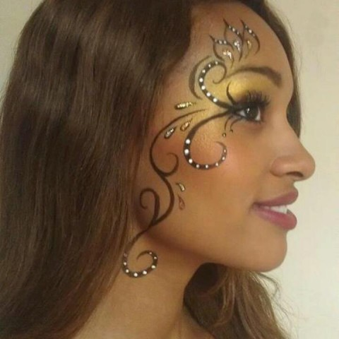 hire jade face painting face painter in austin texas