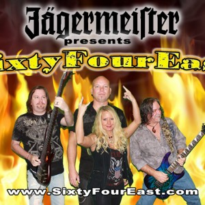 Jagermeister presents... SixtyFourEast - Rock Band / 1980s Era Entertainment in Henderson, Kentucky