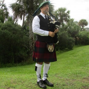 James Freeman, The Artist Bagpiper - Bagpiper in Estero, Florida