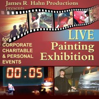 "James R. Hahn ""Live Painting Exhibitions"" - Motivational Speaker / Fine Artist in Laguna Beach, California"