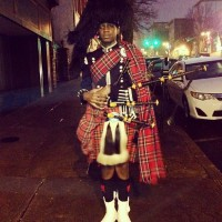 Jamid Knight - Bagpiper in Bethlehem, Pennsylvania