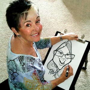 Jane Yamada - Caricaturist / Corporate Event Entertainment in Denver, Colorado