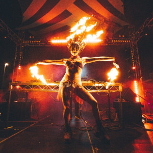 Phoenix Fire Flow - Fire Dancer in San Francisco, California