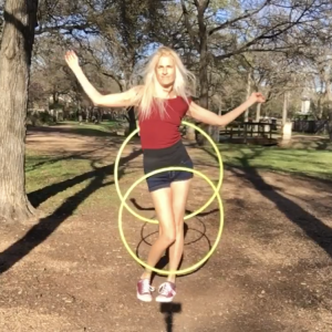 Jasmine Kienne - Hoop Dancer in Austin, Texas
