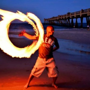 Jax Fire Fest - Fire Dancer in Jacksonville, Florida