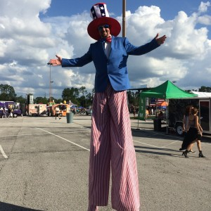 Jax Stilt Walker - Stilt Walker / Outdoor Party Entertainment in Jacksonville, Florida