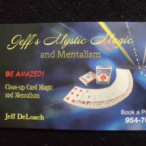 Jeffs Mystic Magic - Magician / Illusionist in Davie, Florida