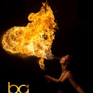 R.SauvageFire - Fire Performer / Body Painter in Houston, Texas