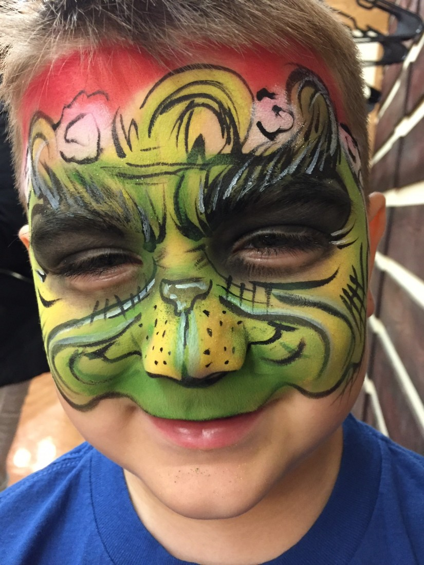 Hire jenkins face painting airbrush tattoo 39 s face for Airbrush tattoo paint