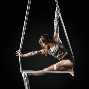 Jennelise - Aerialist in Osoyoos, British Columbia