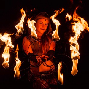 Jenna Fae Flow Arts - Fire Dancer in Aspen, Colorado