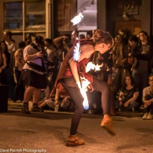 Jenna Lang Fire Artist - Fire Performer in Richmond, Virginia