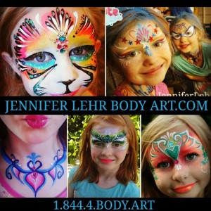 Jennifer Lehr Body Art - Face Painter / Airbrush Artist in Temecula, California