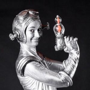 Jenny Jupiter - Human Statue in Toronto, Ontario