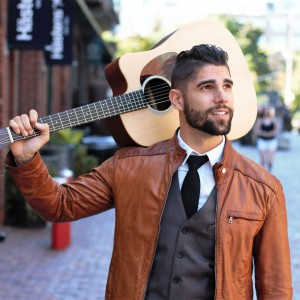 Jeremy de Freitas - Singing Guitarist / Wedding Singer in Toronto, Ontario