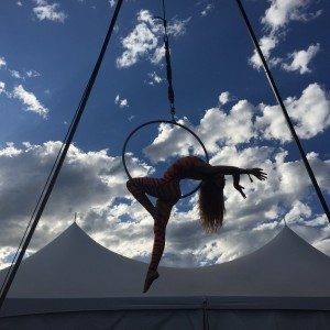 Jessica Faith - Aerialist in Boulder, Colorado