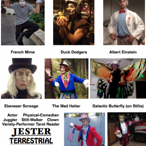 Jester Terrestrial - Variety Entertainer / Tarot Reader in Portland, Oregon
