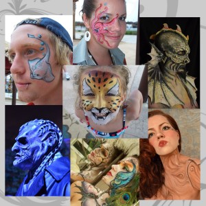 JMG Productions: SFX MU, Body Art & Illustrations - Makeup Artist / Halloween Party Entertainment in Greensboro, North Carolina