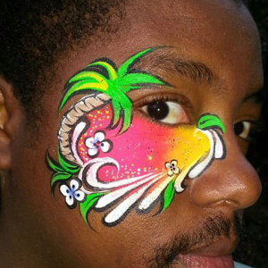 Jodel's Art - Face Painter / Outdoor Party Entertainment in Fort Lauderdale, Florida