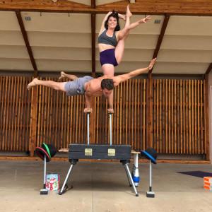 Joe and Lexee Circus Arts - Circus Entertainment in Salida, Colorado