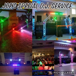 Joe's Special D.J. Service - Mobile DJ / Wedding DJ in Corpus Christi, Texas