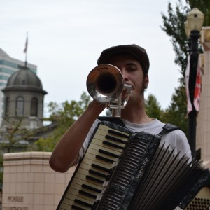 John Blue Sky - Accordion Player in Portland, Oregon